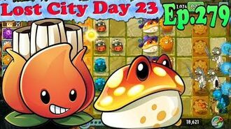 Plants vs. Zombies 2 (China) - Toadstool and A.K.E.E. - Lost City Day 23 (Ep.279)