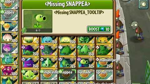 Snap Pea - Upcoming plant - Plants vs