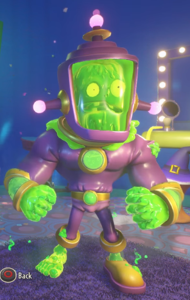 Toxic Brainz Plants vs Zombies