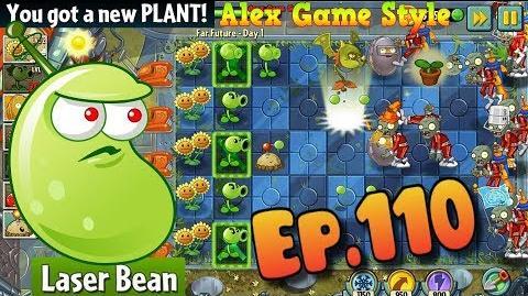 Plants vs. Zombies 2 Quest, Got a new Plant Laser Bean - Far Future day 1 (Ep