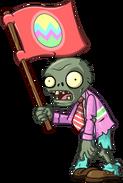 HD Springening Flag Zombie