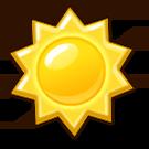 Icon sun