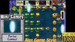 Plants vs. Zombies - Portal Combat Mini-Games - Classic PC HD (Ep