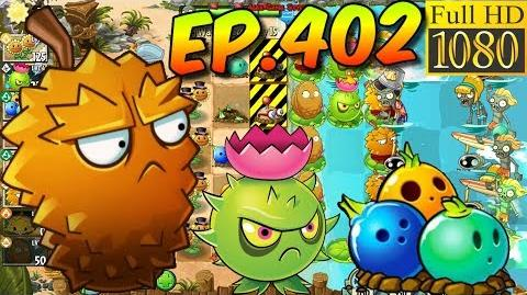 Plants vs. Zombies 2 Protect plant Potato Mine - Big Wave Beach Day 15 (Ep