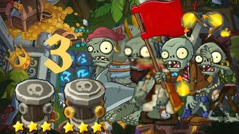 PvZ Online - Adventure Mode - Treasure Island 3