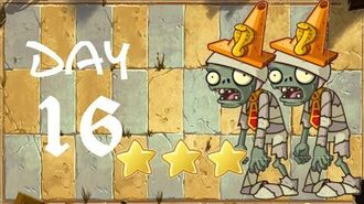 Android Plants vs. Zombies All Stars - Ancient Egypt Day 16