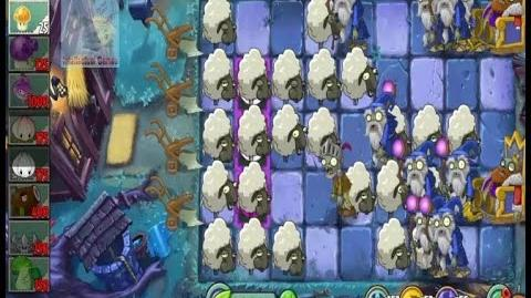 Arthur's Challenge Level 26 to 30 Plants vs Zombies 2 Dark Ages