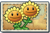 Twin Sunflower New Ancient Egypt Seed Packet