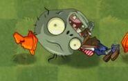 Dead Big Brainz Conehead Zombie