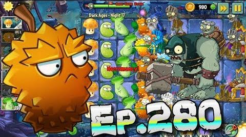 Plants vs. Zombies 2 Evil potions boost zombies - Dark Ages Night 17 (Ep