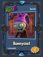 Bunnycoat Sticker