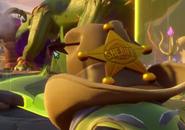Sombrero de guisante sheriff
