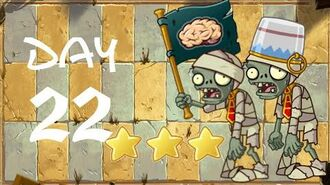 Android Plants vs. Zombies All Stars - Ancient Egypt Day 22