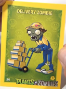 Delivery zombie card