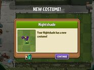 Getting Nightshade's Costume