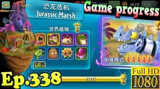 Plants vs. Zombies 2 (China) - Game progress after Jurassic Marsh - Plants Costumes PvP (Ep.338)