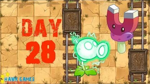 Plants vs Zombies 2 - Wild West - Day 28