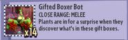 Gifted Boxer Bot Stickerbook Description