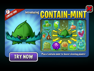 Introducing Contain-mint with Slowing Plants