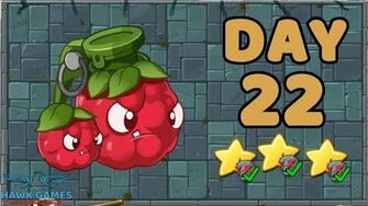 Plants vs Zombies 2 China - Steam Ages Day 22