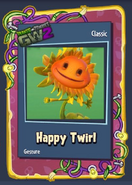 Pvzgw2 happy twirl sticker