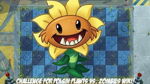 Plants vs. Zombies 2 Challenge 12 Wyzwanie dla polskiej Plants vs