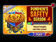 Pumpkin Safety Season Ad