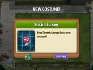 Getting Electric Currant's First Costume