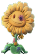 Stuffy Sunflower Transparent