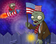 4th july zombie