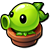 Peashooter sprout 2