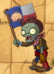 Flag Cowboy Zombie