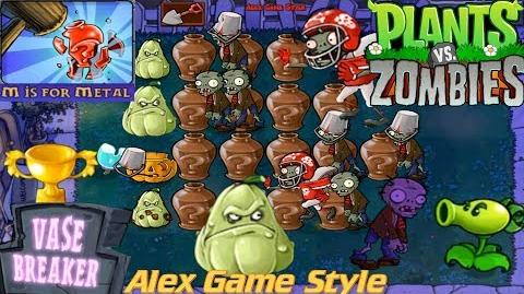 Plants vs. Zombies - Puzzle Vasebreaker M is for Metal (Android Gameplay HD) Ep