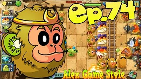 Plants vs. Zombies 2 (Chinese version) Kiwifruit, Toadstool Wild West Day 16 (Ep