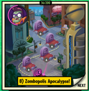 Zombopolis Apocalypse Map