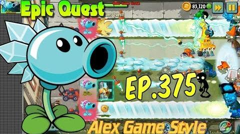 Plants vs. Zombies 2 - SNOW PEA - Epic Quest Premium Seeds (Ep.375)