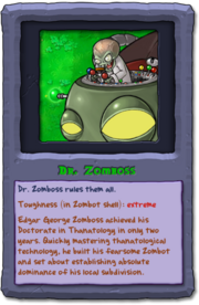 Almanac Card Dr. Zomboss