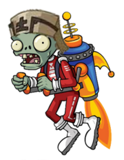 Chinese Jetpack Zombie