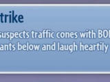 Cone Strike