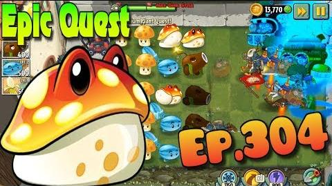 Plants vs. Zombies 2 TOADSTOOL - Epic Quest Premium Seeds (Ep