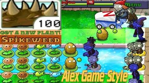 Plants vs. Zombies Adventure Got a Spikeweed level 3-6 Pool (Android Gameplay HD) Ep