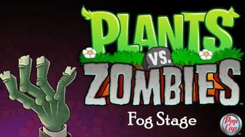 Plants vs Zombies Soundtrack Fog Stage