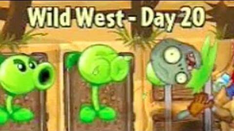 Wild West Day 20 - Plants vs Zombies 2