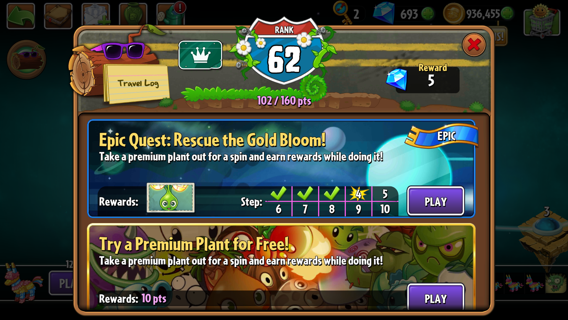Epic Quests | Plants vs  Zombies Wiki | FANDOM powered by Wikia