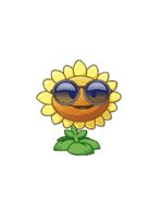 HD Sunflower with costume
