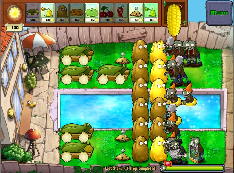 Defcorn 5 Plants Vs Zombies Wiki Fandom Powered By Wikia