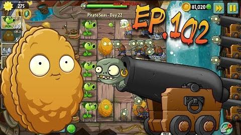 Plants vs. Zombies 2 Defence and defeat the zombies - Pirate Seas Day 22 (Ep.102)