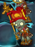 Roman Zombie Flag In-Game