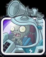 Solar Car Zombie Icon