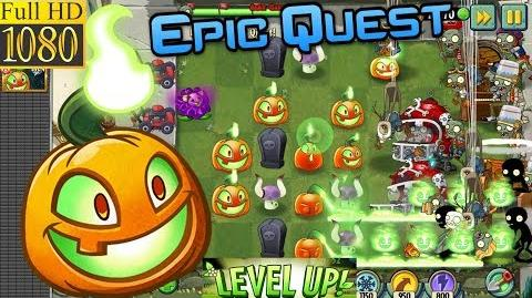 Plants vs. Zombies 2 - Jack O'Lantern - Epic Quest Premium Seeds (Ep